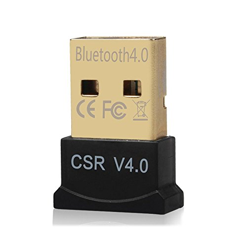CCKARE Bluetooth USB Adapter, Free Drive, Bluetooth 4.0 Adapter PC For Win 10,8,7, XP Support Headphones, Speakers, etc. by CCKARE