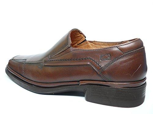 Marrón Hombre Tipo 56 Piel Mocasín Fluchos Zapatos Marron Vestir 5407 De CqH7w0d0