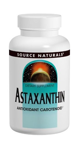 Natural Astaxanthin 120 Tabs - Source Naturals Astaxanthin 2mg, 120 Tablets (Pack of 2)