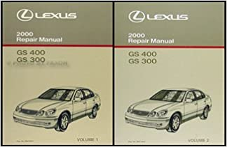 2000 LEXUS GS400 GS300 GS 400 GS 300 Service Repair Shop ... on