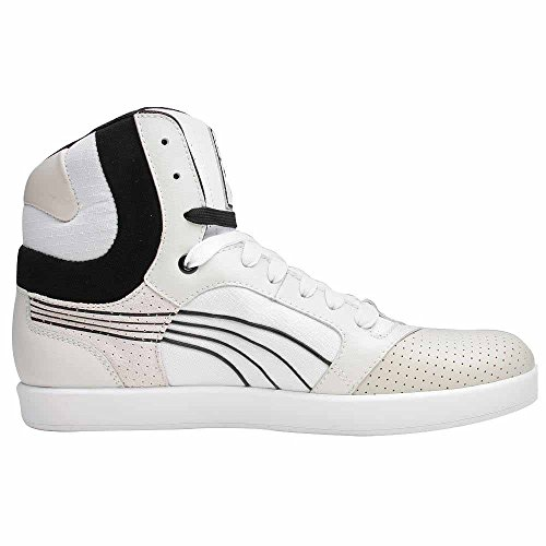 Puma Post Up On Cup Hola Plr Hombres Leather Sneakers Grey