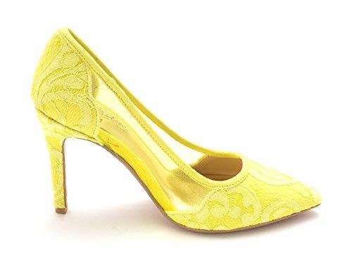 Thalia Toe Sodi Pumps Classic Natalia Chartreuse Pointed Womens rvq41