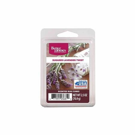 Better Homes and Gardens Wax Cubes, Sugared Lavender Twist - Limited (Lavender Twist)
