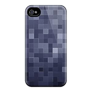 Defender Case With Nice Appearance (shades Of Blue) For Iphone 4/4s