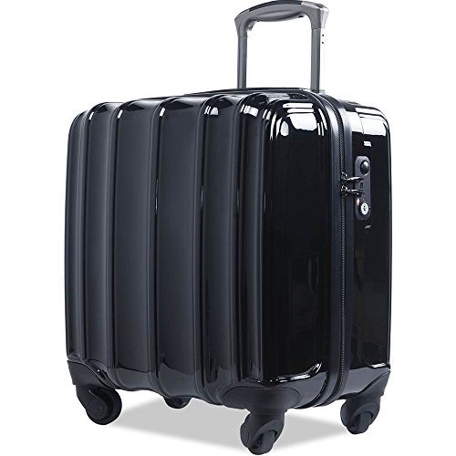 Travelhouse Carry On Luggage Laptop Computer Case Under Seat Suitcase TSA (Black) (Case Aluminum Business Computer Laptop)