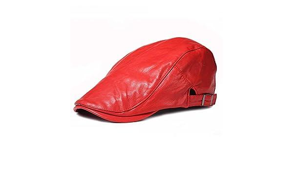 0f985ffda Black Male Flat Cap Leisure Men Newsboy Hat Winter Chapeau Gentleman ...