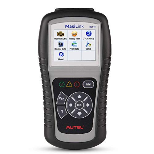 Autel MaxiLink ML519 OBDII/EOBD Scanner Enhanced OBD II Mode 6,Code Reader with The Same Function as al519 by Autel (Image #9)