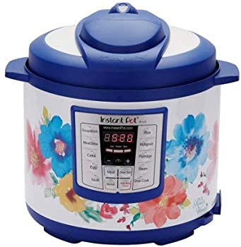 Instant Pot Woman Breezy Blossoms 6-in-1 Multi-Use Pressure Cooker (6 Qt)