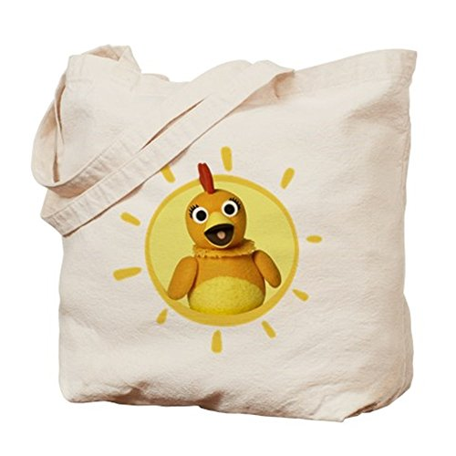 Price comparison product image Sunny Side Up - Chica Sunshine Canvas Tote Bag