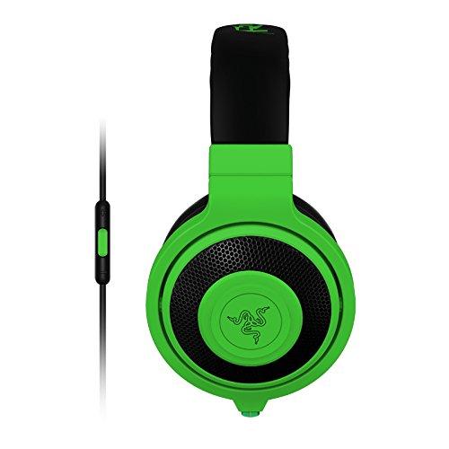 Razer Kraken Mobile Analog Music & Gaming Headset-Neon Green (Best Selling Gaming Headset)