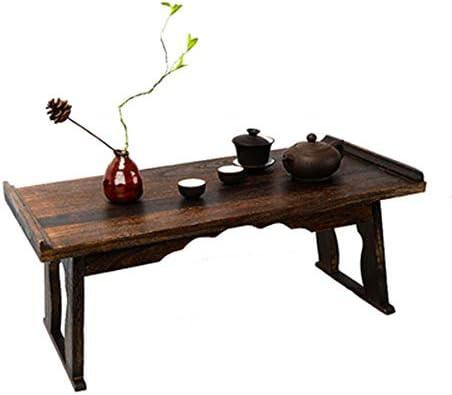 SHPING 折りたたみテーブル 折りたたみテーブル、木製ノンスリップ、ポータブル、家庭用ダイニングテーブル、折りたたみコーヒーテーブル、多機能ではなく、簡単に変形し、強い支持力へ。 ローテーブル (Color : A, Size : 50×28×24m)