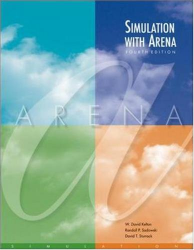 Simulation with Arena with CD (McGraw-Hill Series in Industrial Engineering and Management)