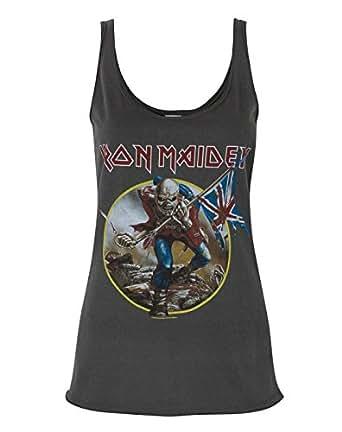 Amplified Iron Maiden Trooper Women's Vest (L)