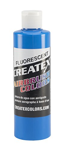 for Airbrush, 8 oz, Fluorescent Blue ()
