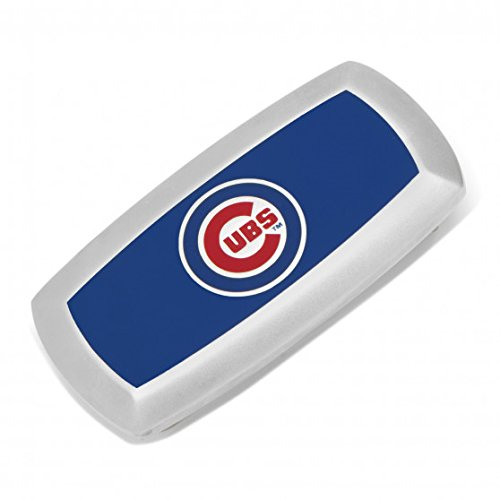 Chicago Cubs Cushion Money - Silver Cubs Chicago Cufflinks