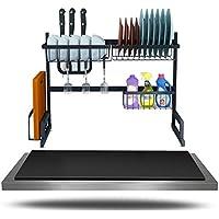 Stainless Steel Dishwasher Rack Household Multi-Functional Airing Filter Dishes Chopsticks Shelf Bottom Sucker Anti-Skid Foot