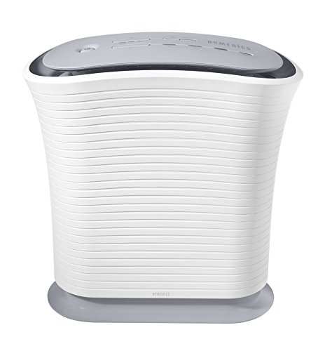 HoMedics True HEPA Medium Air Purifier traps Smoke