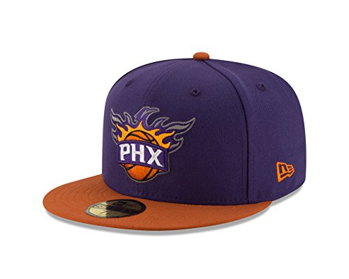 Nba Phoenix Suns Mens 2 Tone 59Fifty Fitted Cap  7 625  Purple