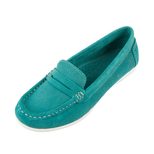 Brakeburn Women's Suede Loafer Slip on Shoe (BBLFOO007050S16) Green
