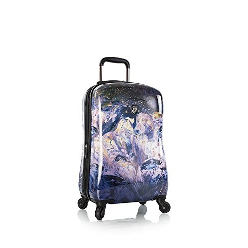 Heys Luggage Purple Amethyst 21 Inch Spinner Carry-On Suitcase by HEYS AMERICA
