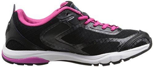 RYKA Womens Fit Pro Training Shoe Black/Zuma Pink/Young Turquoise NB8BABYNjM