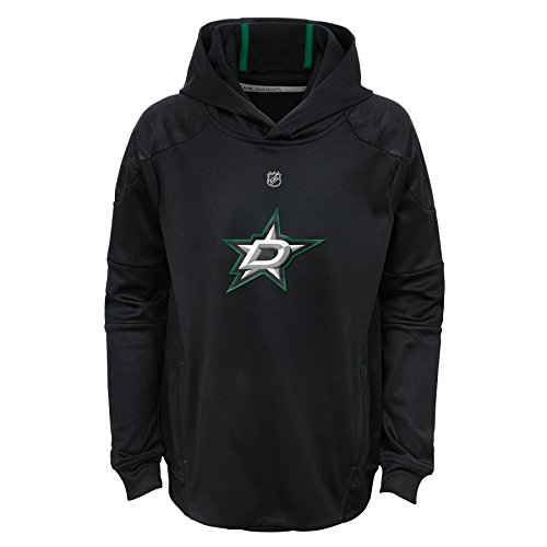 (NHL Dallas Stars Kids & Youth Boys Mach Pullover Hoodie, Medium(10-12),)