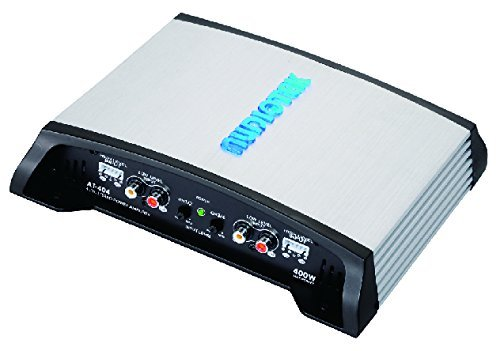 400w Stereo Power Amplifier - Audiotek At404 Class Ab 4 Channel 4 Ohm Stable 400W Stereo Power Car Amplifier