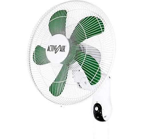 HYDROFARM Active Air Wall Mountable Oscillating Fans