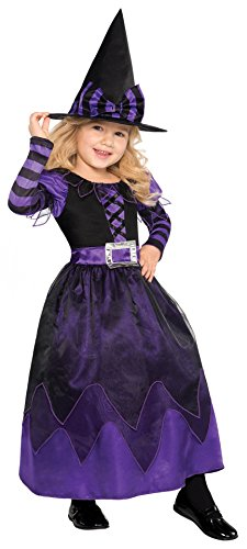[Children's Be Witched Costume Size Small (4-6)] (Halloween Witch Costumes Kids)