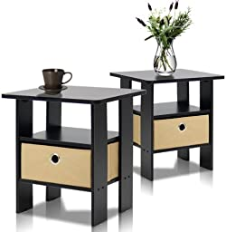 related image of Furinno End Table Bedroom Night Stand, Petite