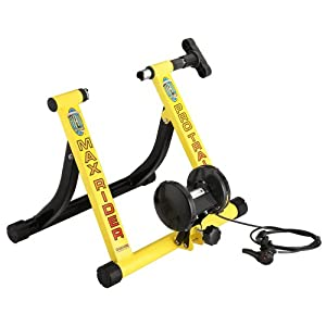 1109 RAD Cycle Yellow Bike Trainer Indoor Bicycle Exercise 6 Levels of Resistance