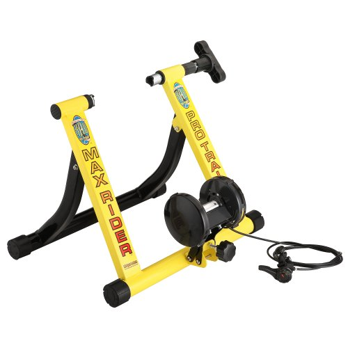 RAD Cycle Products Indoor Bicycle Trainer, Yellow, Large