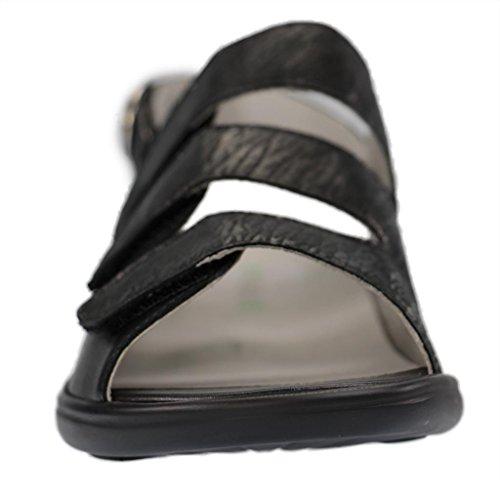 Femmes Sandales Waldläufer Noir 6840022090001 Kara qxP71