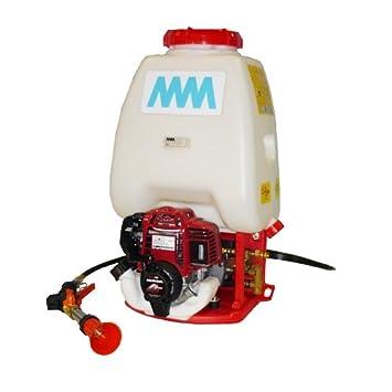 MM Sprayer 25l-h-r - Pulverizador Mochila Térmica con motor a gasolina Honda GX25: Amazon.es: Jardín