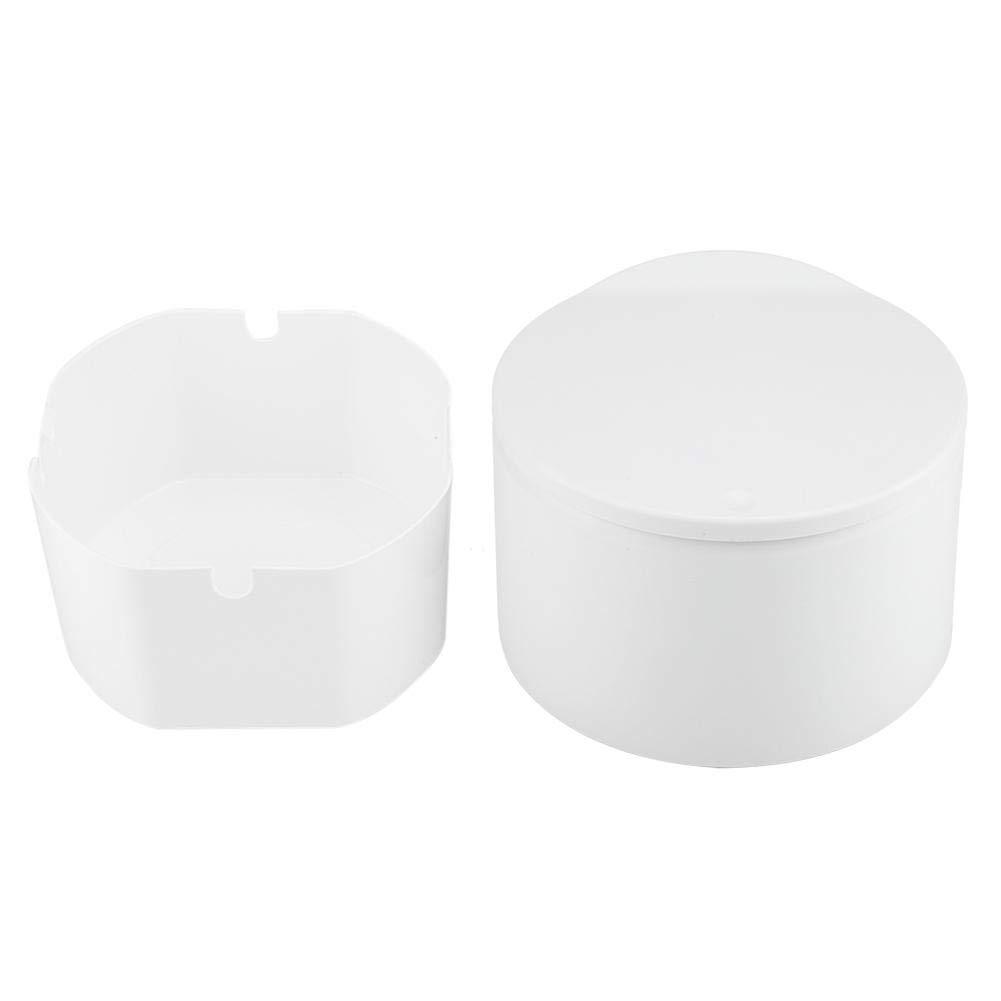 Zerone Mini Double Layers Destop M/ülleimer M/ülleimer Home Office Badezimmer Black