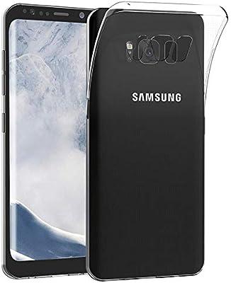 LUCKLYSTAR® Carcasa para Samsung Galaxy S8 Plus Slim Transparente TPU Silicona Funda Anti-Rasguño Anti-Golpes Protective Case para Samsung Galaxy S8 ...