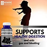 Ahana Nutrition Activated Charcoal Capsules for