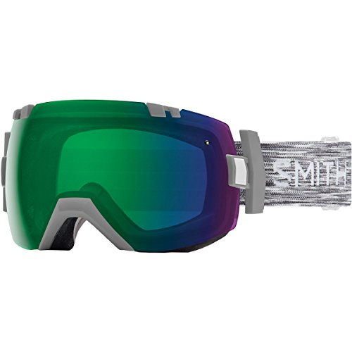 Smith Optics I/Ox Adult Snow Goggles - Cloudgrey/Chromapop Everyday Green Mirror