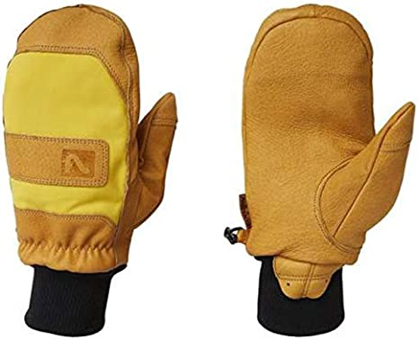 Flylow Leather Ski and Snowboarding Unicorn Mittens