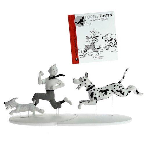 Figurine de collection Tintin, Milou et le danois Hors-Série N°7 42174 (2015)