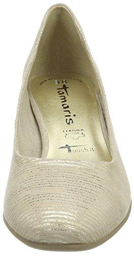 Tacco Struct 22302 beige Scarpe Con Beige Donna Tamaris gO0tqRSg