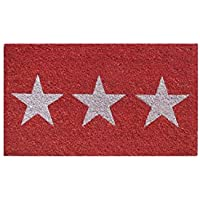 Aramis - Felpudo 73x43 Estrellas Blancas c10