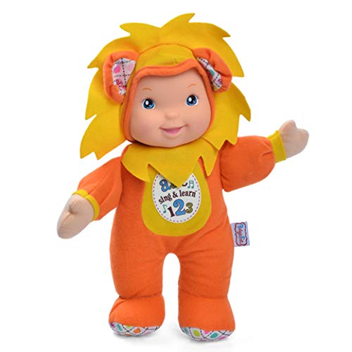 Lion Soft Doll - Baby's First Lion Sing & Learn 11