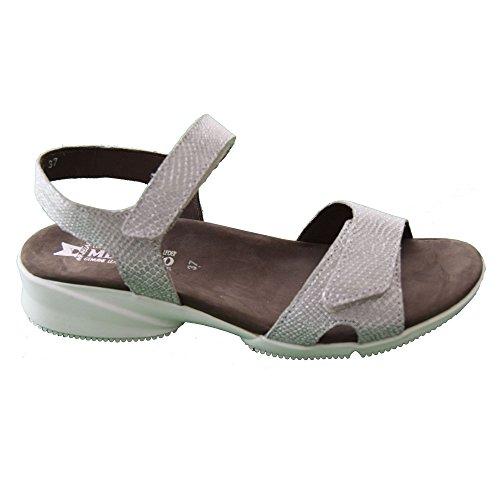 Mephisto Francesca Ladies Smart Sandal Silver
