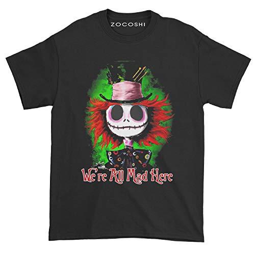 We Are All Mad Here Handmade T-Shirt Hoodie Sweatshirt Long Sleeve
