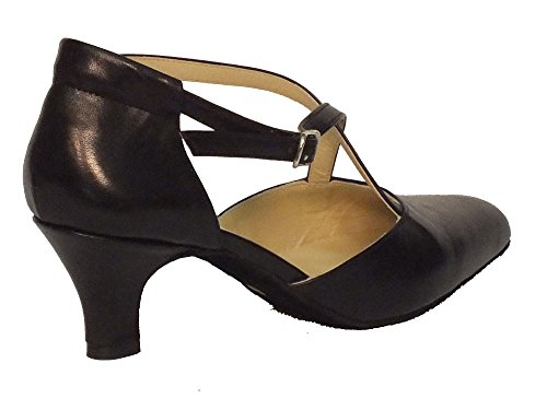 50R Cuccarini nero Vitiello Nero Shoes Dance Dance Shoes Women's Black Nero qRRtXB