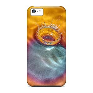 Iphone High Quality Tpu Case/ Orange Drop JRpkhZg5678sxhQS Case Cover For Iphone 5c
