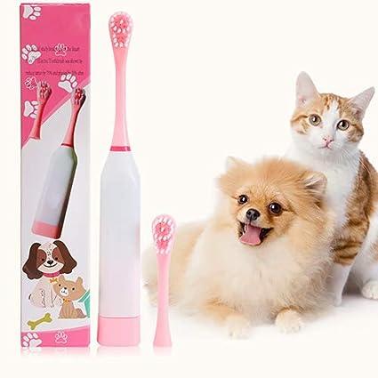 QNMM De Dientes del Animal Doméstico del Cepillo Gato Cepillo Fácil del Cuidado Oral Perros Medianos