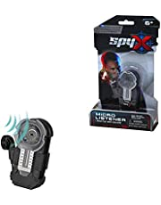 MukikiM SpyX / Micro Listener - Spy Toy Listening Device Clips to Your Pocket with Attached Ear Bud to Hear Secret Conversations. Perfect addition for your spy gear collection!