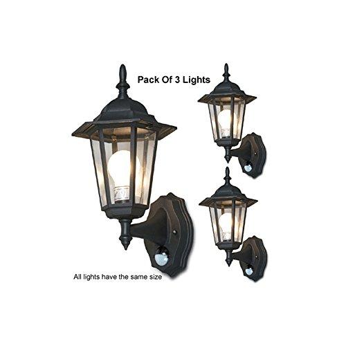 Outdoor Lantern Light With Pir in Florida - 5